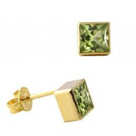 Acalee 70-1025-04 Ohrringe Gold 333 / 8K mit Peridot