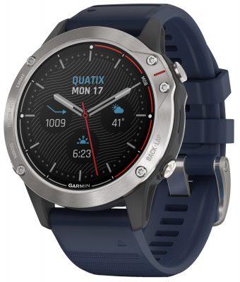 Garmin 010-02158-91 Quatix 6 Marine GPS Smartwatch Herrenuhr