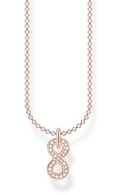 Thomas Sabo KE2067-416-14-L45v Damen-Halskette Unendlichkeit