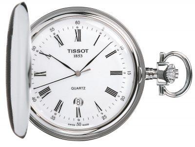 Tissot T83.6.553.13 Taschenuhr Savonette Quarz