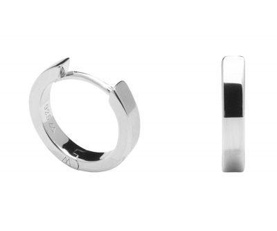 P D Paola AR02-030-U Silber-Creolen Ohrringe für Damen