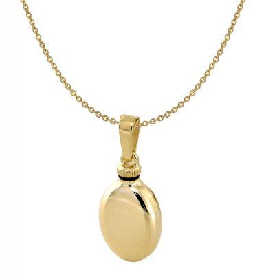 Acalee 40-4002 Anhänger Urne 375 Gold mit Halskette