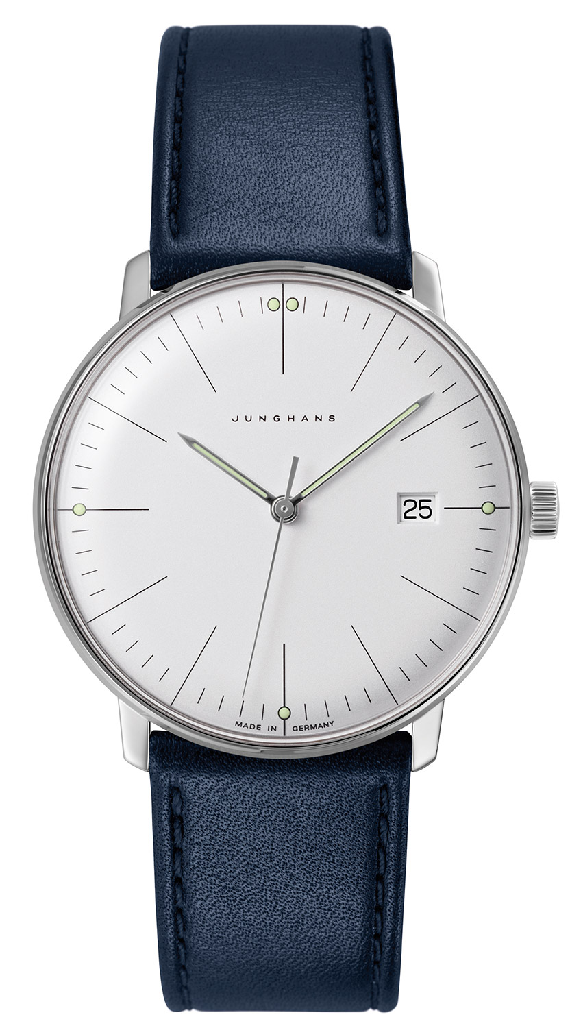 junghans max bill by junghans watches at low prices. Black Bedroom Furniture Sets. Home Design Ideas