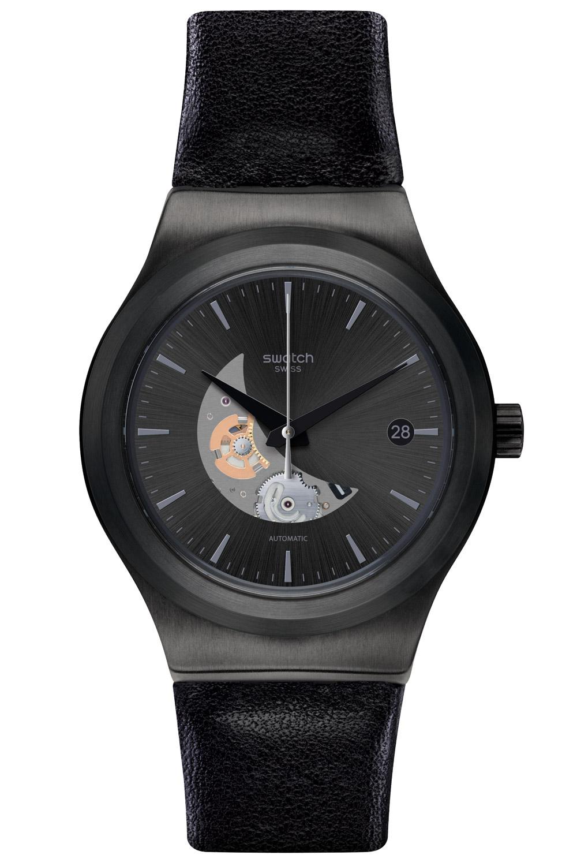 Swatch Uhren YIB404 Automatik Herrenuhr Sistem Pilote