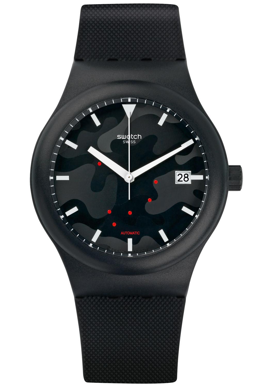 Mens Automatic Suta401 Watch Swatch Sistem51 Sistem Clouds dBCxore