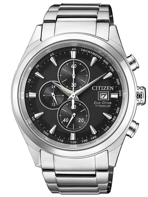 Citizen Ca0650 82f Mens Watch Chronograph Eco Drive Super Titanium
