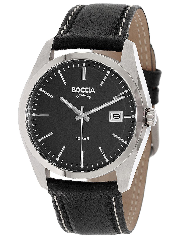 billig für Rabatt beste Qualität für langlebig im einsatz Boccia 3608-02 Titan Herren-Armbanduhr