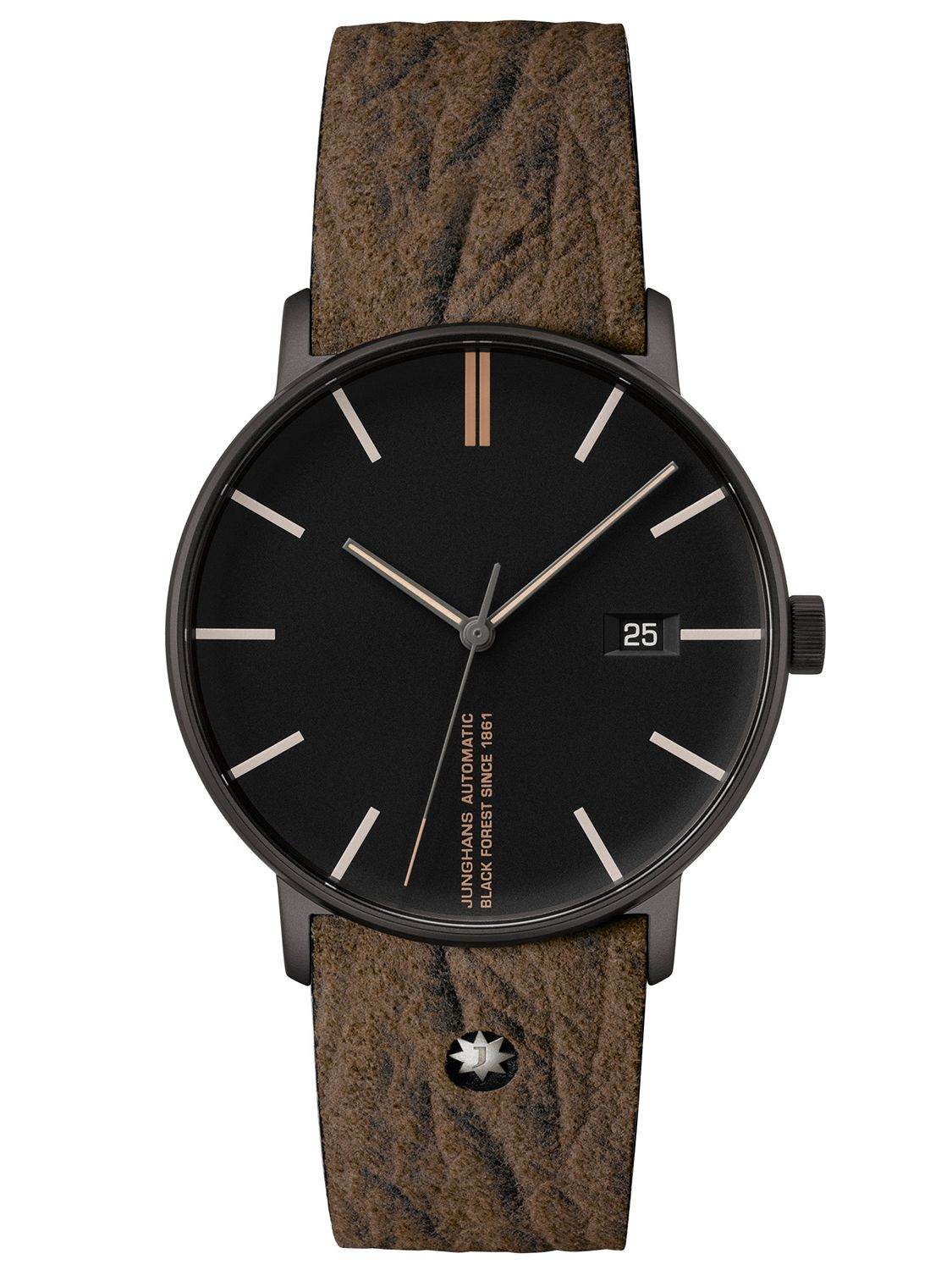 Junghans 21/21.21 Herrenuhr Form A Edition 21