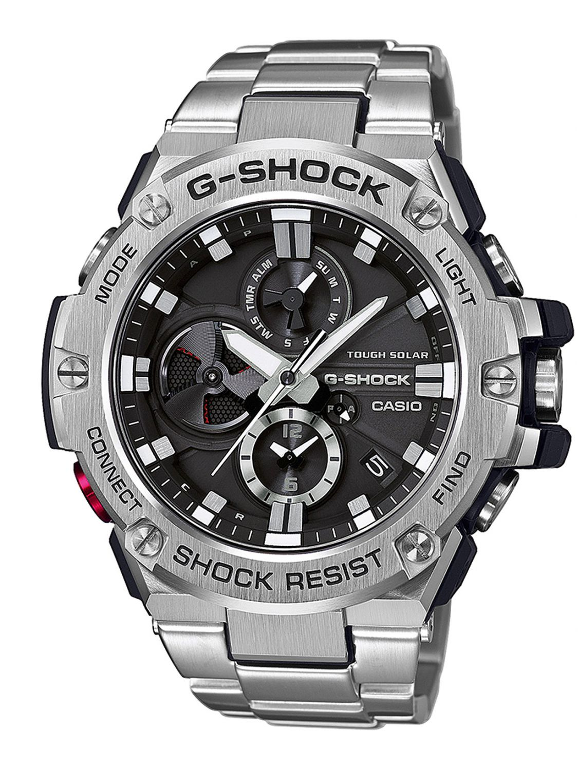 Shock Steel Casio Herrenuhr Gst B100d Solar Bluetooth 1aer G CdxWreBo