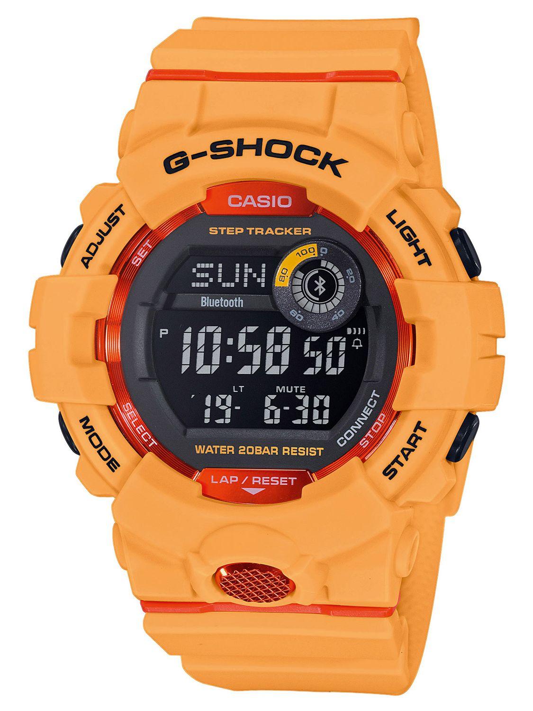 Casio Gbd 800 4er G Shock G Squad Bluetooth Digital Watch With Step Tracker