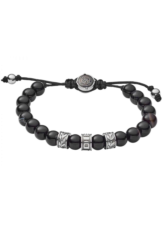 495bab6b26412 Diesel DX1101040 Mens Bracelet Beads