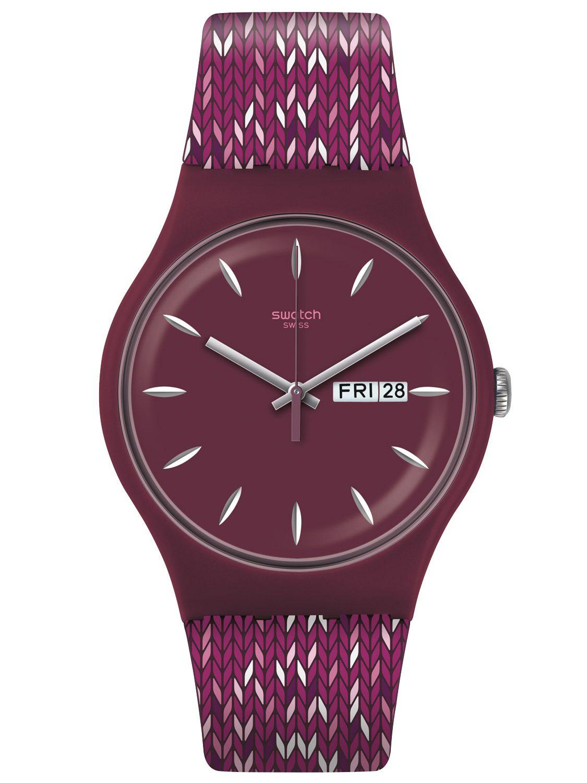 Swatch SUOV705 Wristwatch Trico'Purp