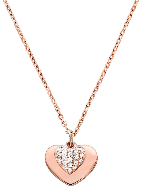 Michael Kors Ladies Necklace Love Rose Mkc1120an791
