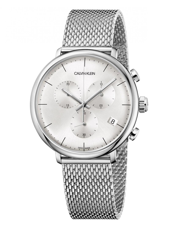 calvin klein k8m27126 herrenuhr chronograph high noon