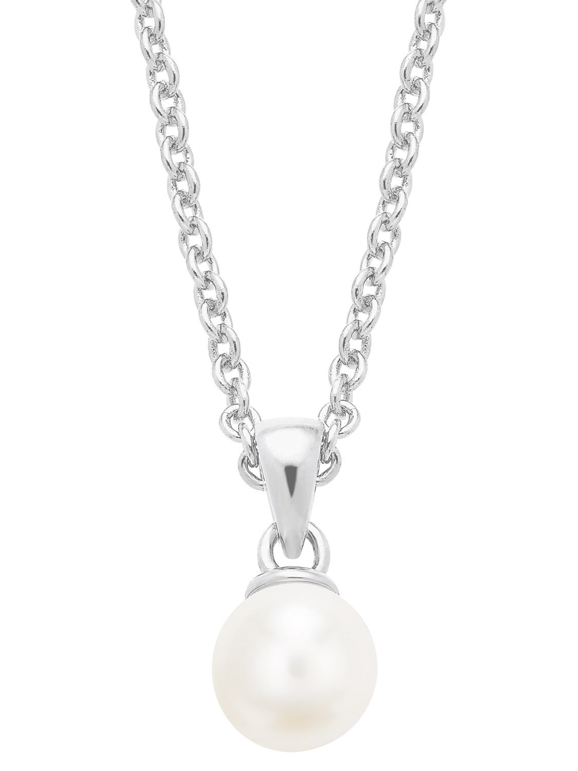 s.Oliver 2026132 Ladies' Necklace with Pearl