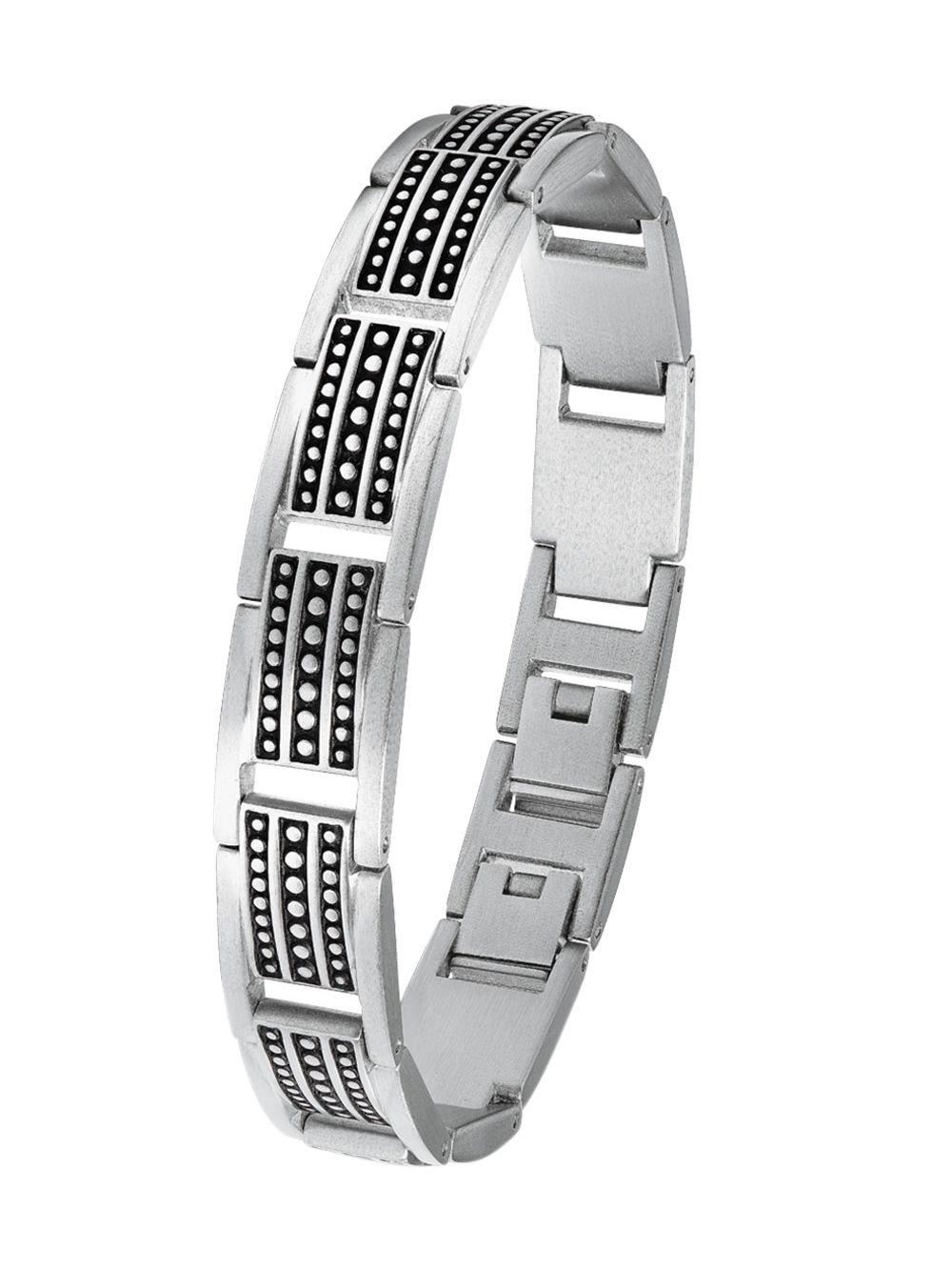 New York besser billiger Verkauf s.Oliver 2022639 Herren-Armband Edelstahl