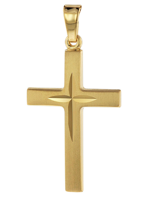 Anhänger Kreuz 333 8K Gold