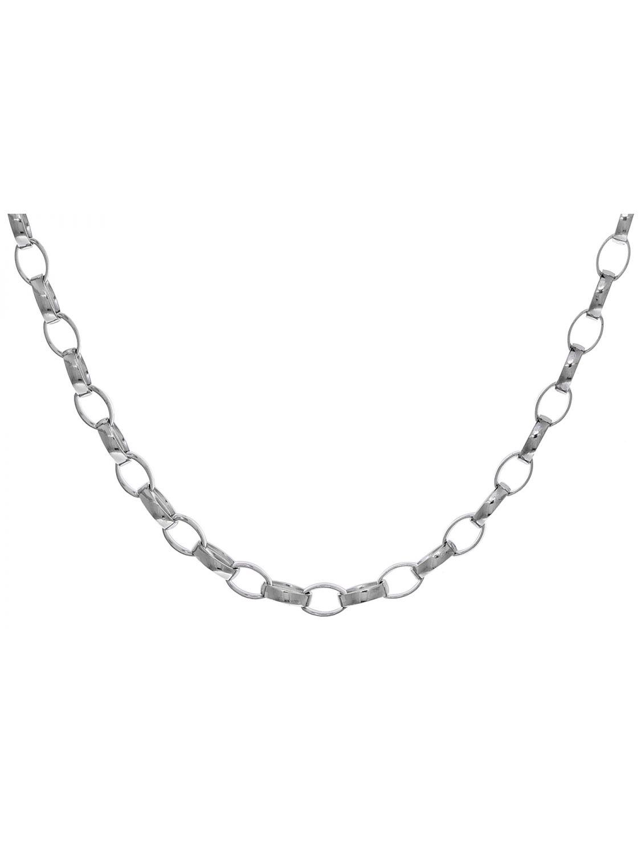 TRENDOR Schmuck Silberkette für Anhänger 925 Silber Erbsmuster 2,4 mm stark 8807