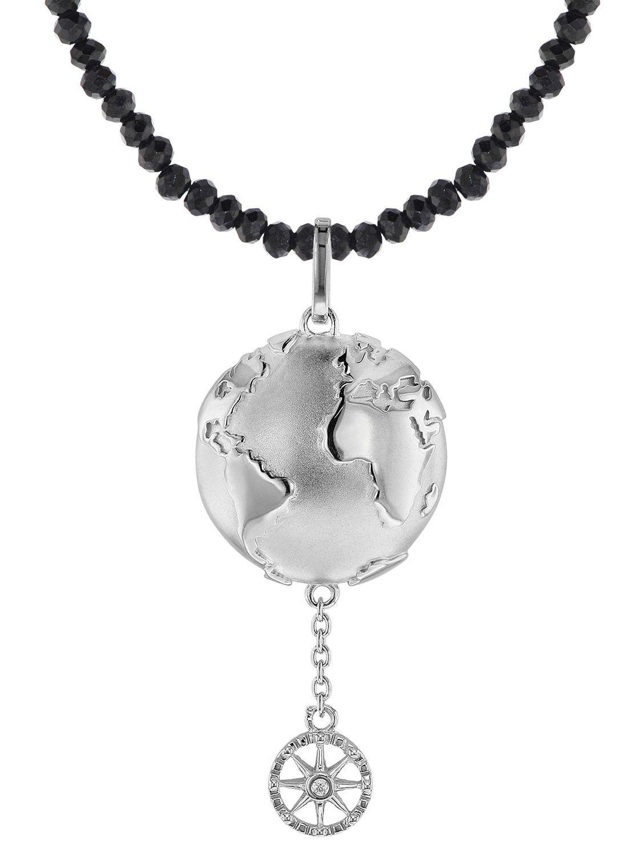 trendor 75500 Anhänger Planet Erde Silber 925 + Spinell
