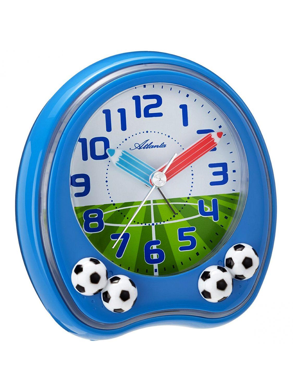 Atlanta 1719 5 Kinder Wecker Fussball