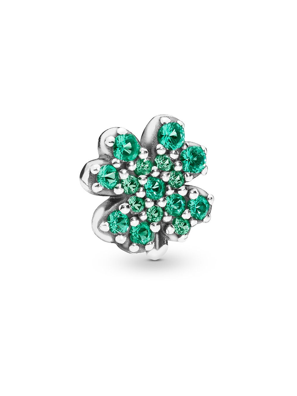 e70ae268d722d Pandora 797867NRG Silver Petite Locket Charm Four-Leaf Clover and Ladybird