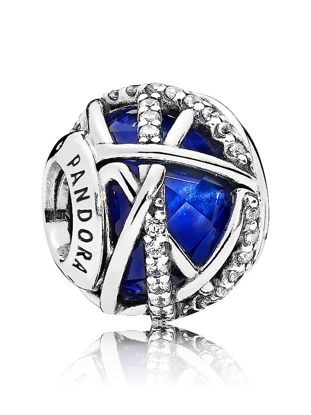 071c5caebe81e Pandora 796361NCB Charm Royal Blue Galaxy