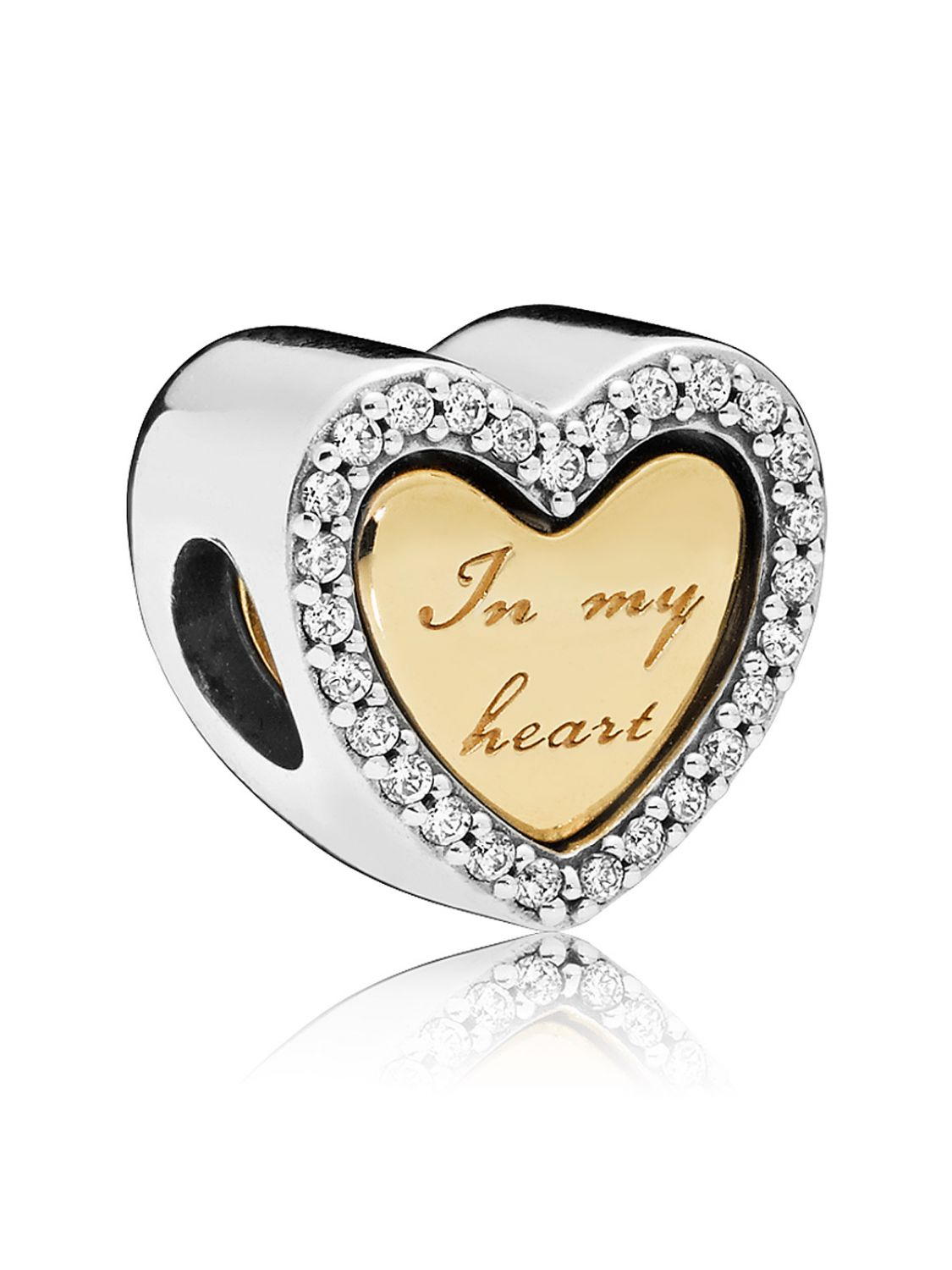 97076f646a5c4 Pandora 767606CZ Shine In My Heart Charm