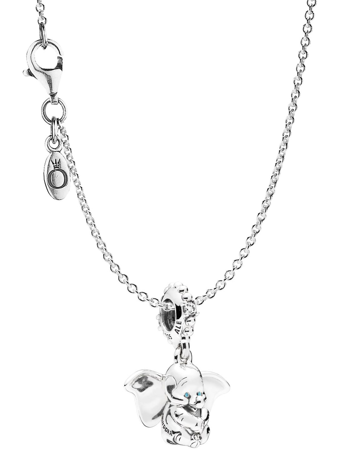 db79b75f85e50 Pandora 75247 Necklace with Charm Dumbo Silver 925