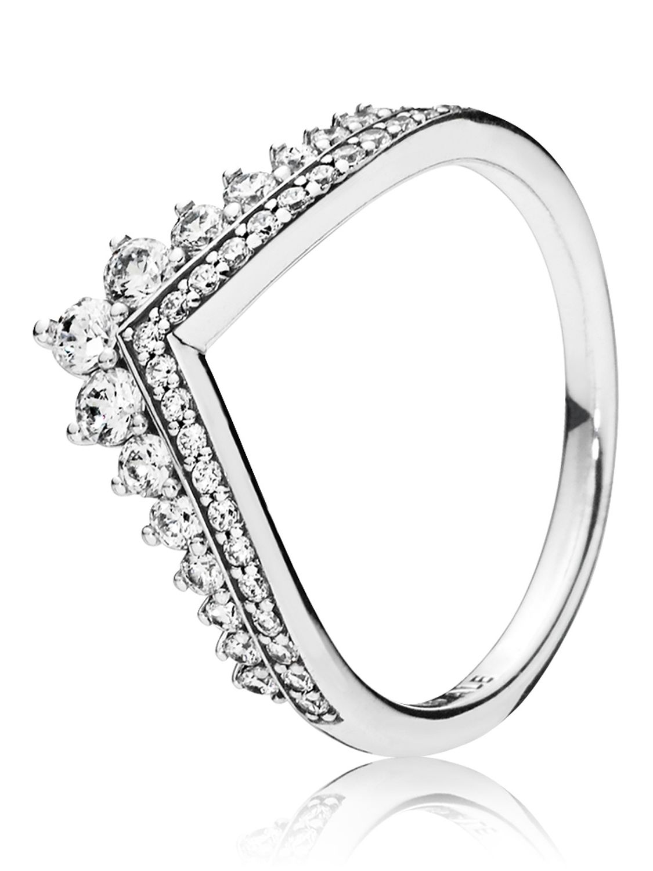 41a2d15a4f857 Pandora 197736CZ Ladies' Ring Princess Wish