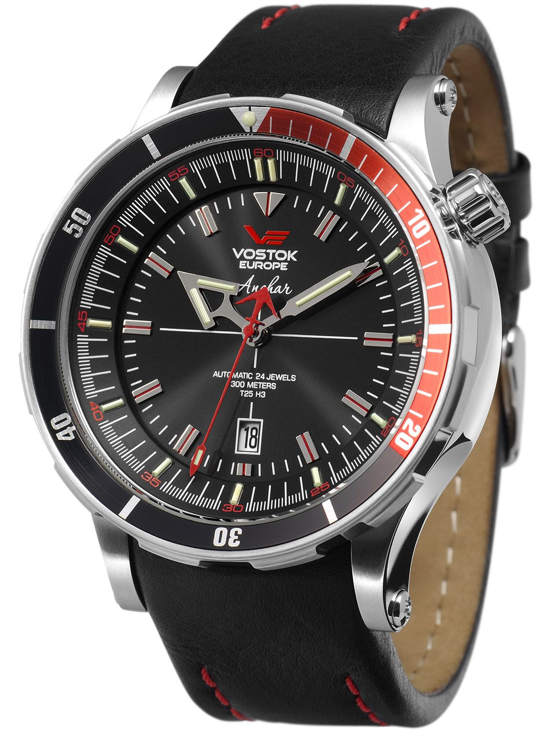 Vostok europe 5105141 anchar automatic diver watch set for Vostok europe watches
