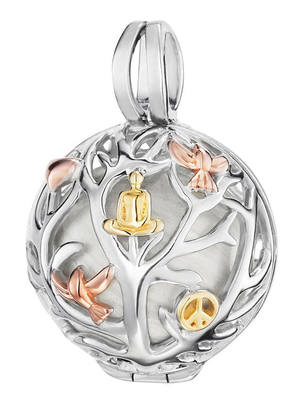 Engelsrufer ER-20-TREE-TRICO Tree of Life Pendant with Sound Ball