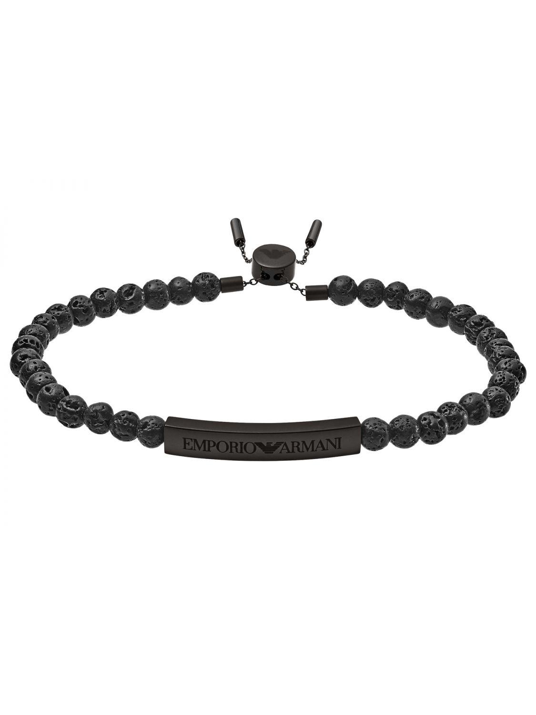 niedriger Preis am besten wählen Wählen Sie für offizielle Emporio Armani EGS2478001 Herrenarmband Heritage