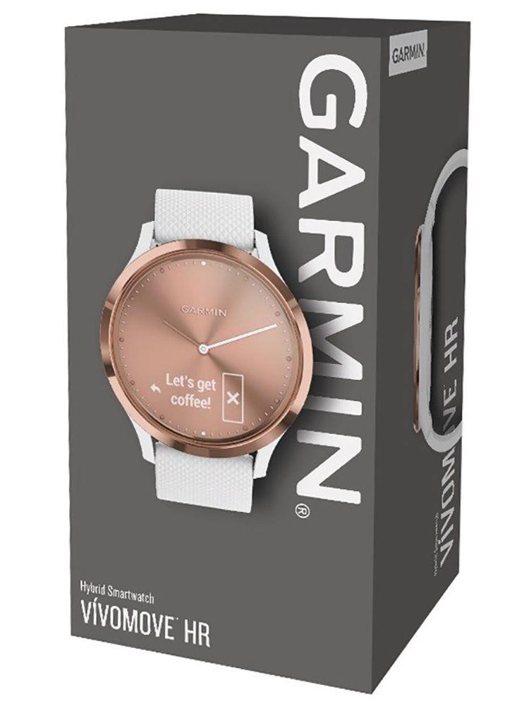 Smartwatch 010 Damen 02 Sm Garmin Sport 01850 Vivomove Hr Roséweiß mNw8n0