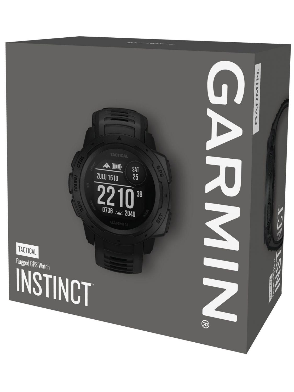 GARMIN Instinct Tactical Outdoor-Smartwatch Black 010-02064-70