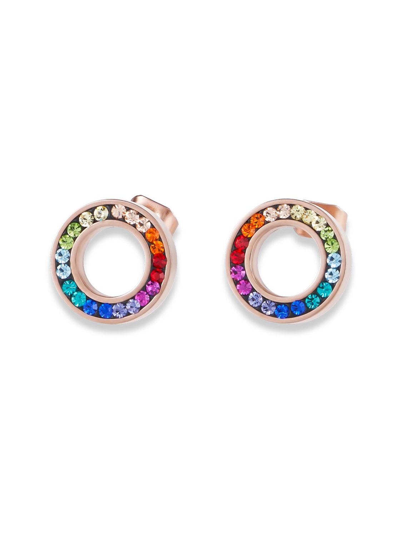 best quality fresh styles buying now COEUR DE LION 4973/21-1500 Ladies´ Stud Earrings Multi-Coloured