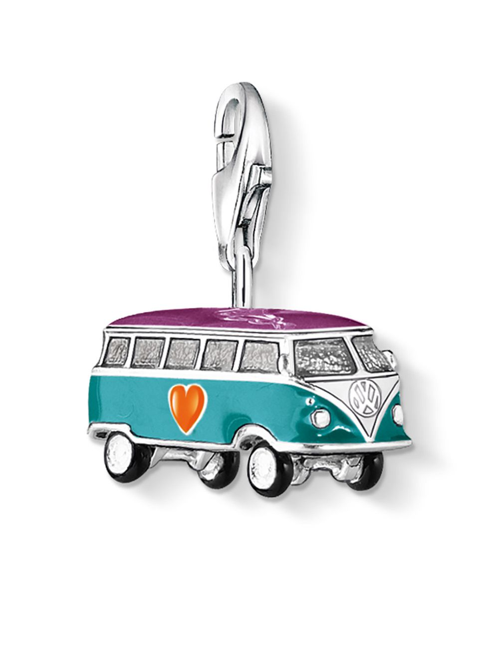 Thomas Sabo 0881 007 7 Charm Pendant Vw Bus Uhrcenter