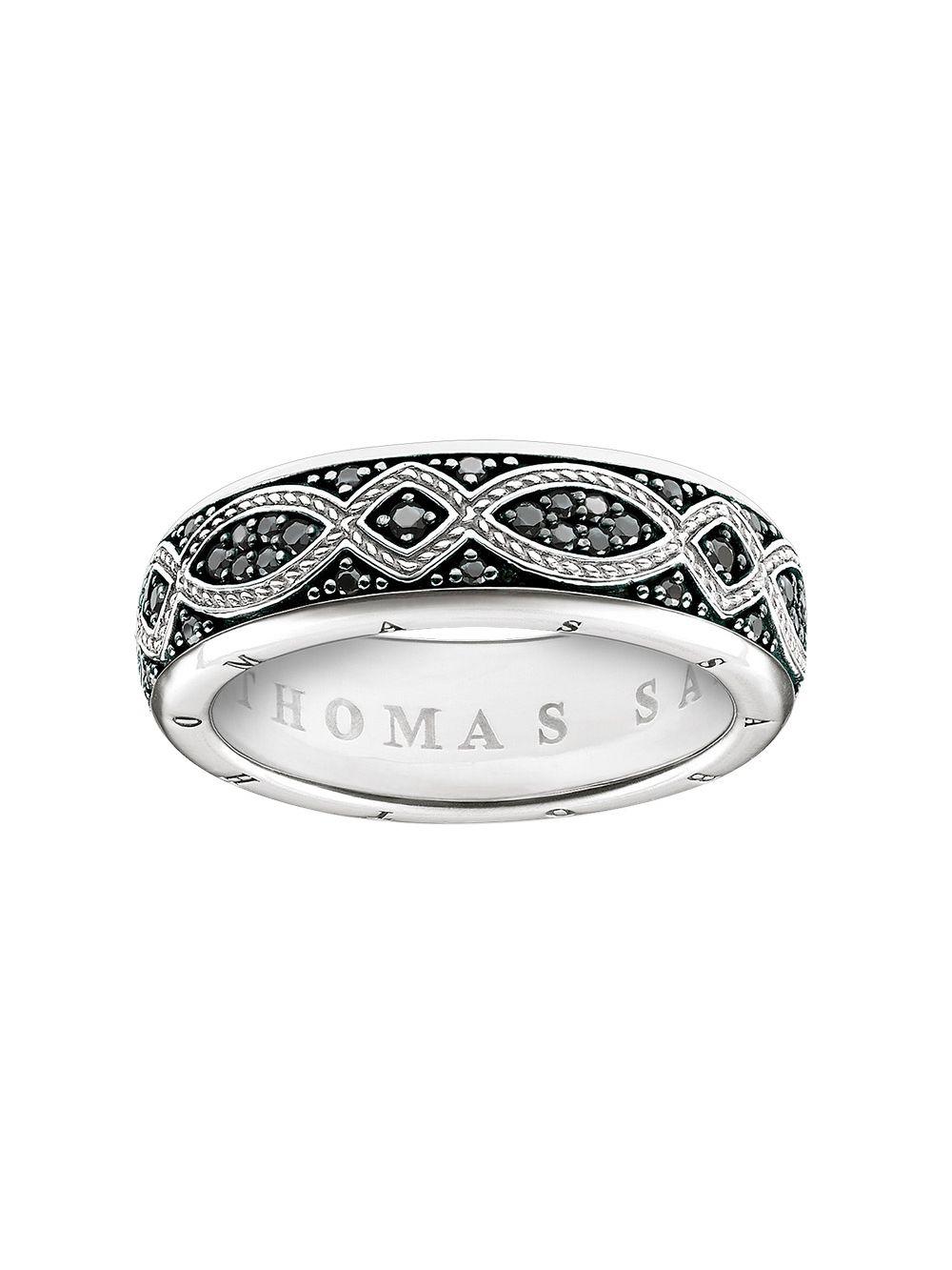 a97eabaf24810 Thomas Sabo TR2087-643-11 Band Ring Love Knot