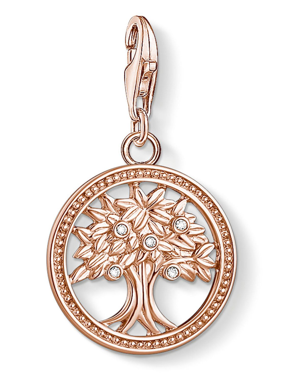 Thomas Sabo 1861 416 14 Charm Anhänger Lebensbaum Silber roségold