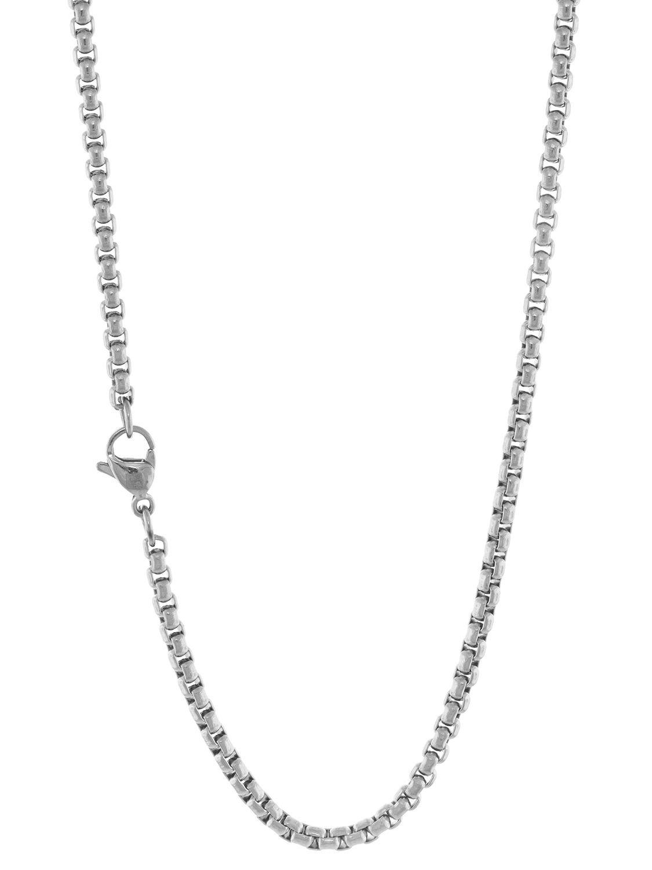 Damen Halskette Damenschmuck Damenkette Edelstahl Halskette 70cm