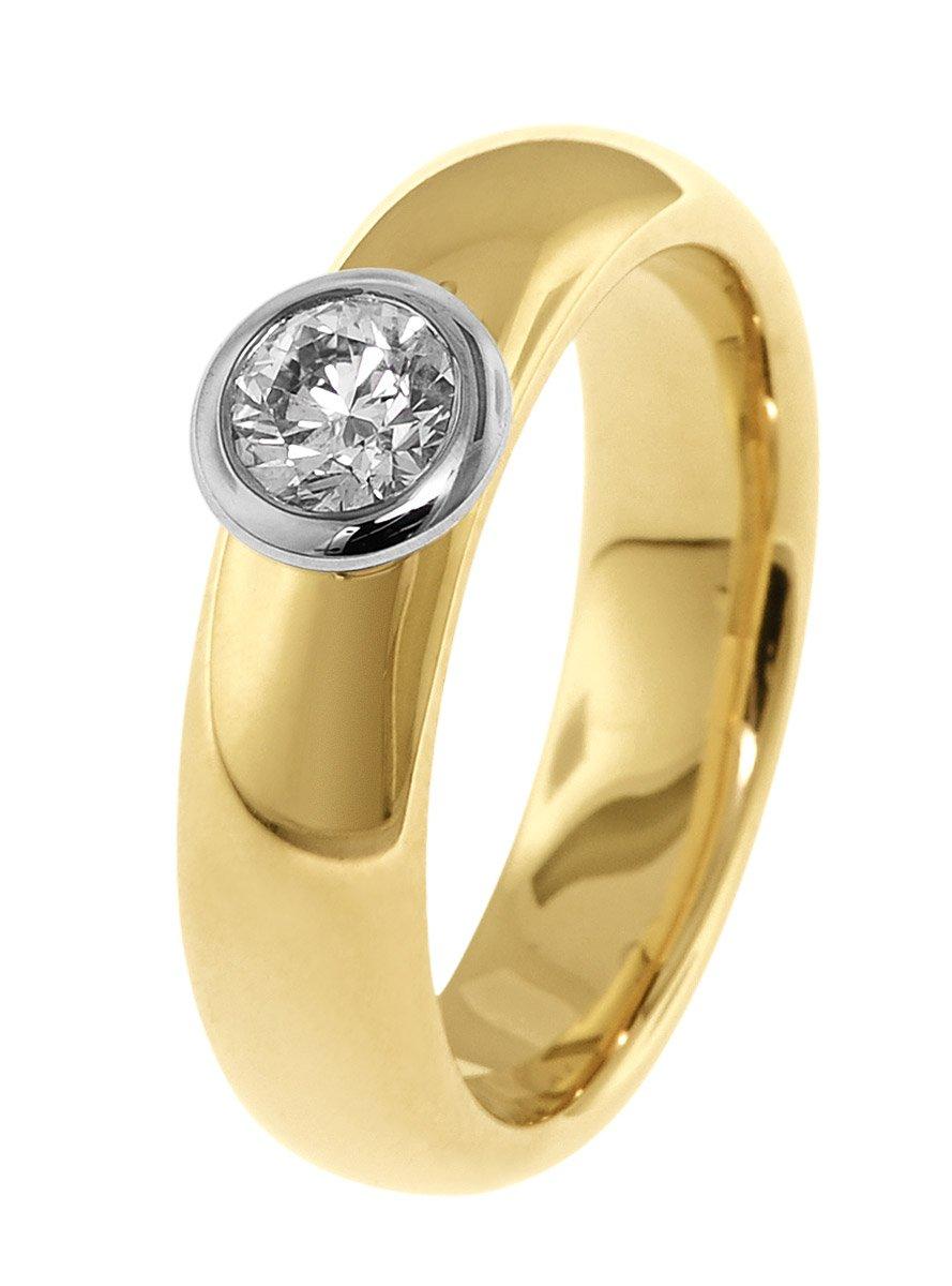trendor Schmuck 532501 Damen Diamantring, 56/17,8
