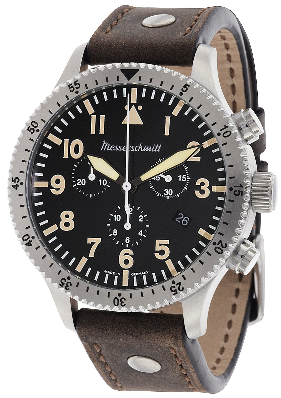 Messerschmitt Vintage Pilots Me Watch 5030 Chronograph GqzVSUMp