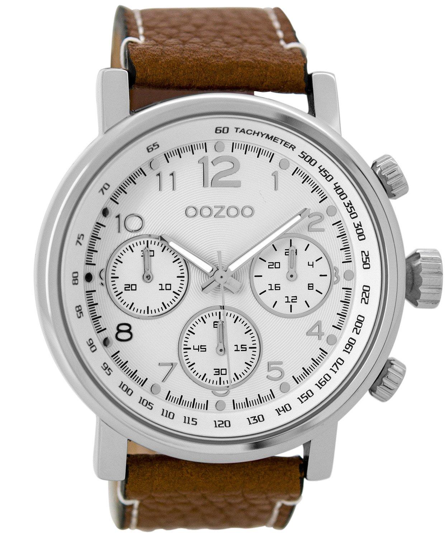 Oozoo C9455 Herrenuhr im Chrono Look 48 mm