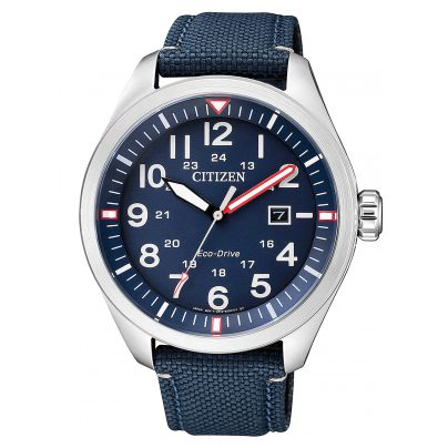 Citizen AW5000-16L Sports Eco-Drive Mens Watch 4974374266026