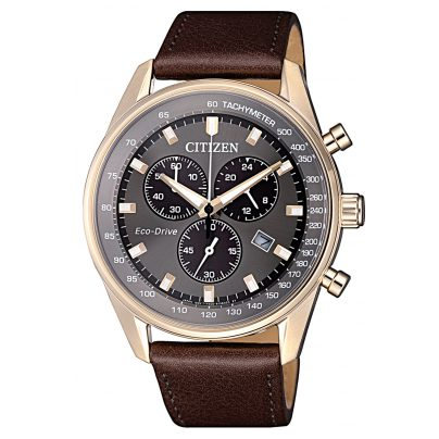 Citizen AT2393-17H Eco-Drive Mens Chronograph 4974374273109
