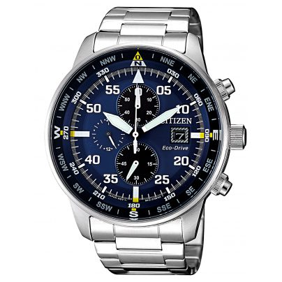 Citizen CA0690-88L Eco-Drive Chronograph Herrenuhr 4974374273314