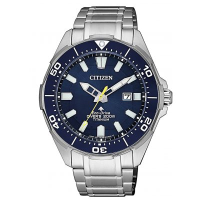 Citizen BN0201-88L Eco-Drive Herren-Taucheruhr Promaster Marine 4974374277428