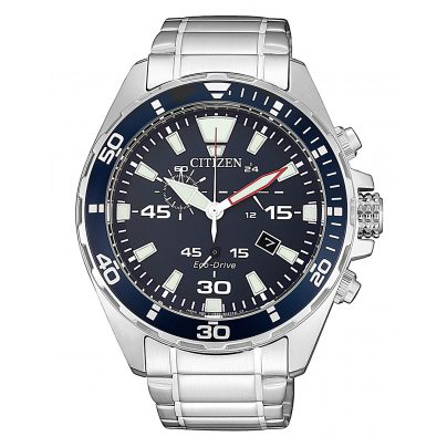 Citizen AT2431-87L Herrenuhr Eco-Drive Chronograph 4974374283597