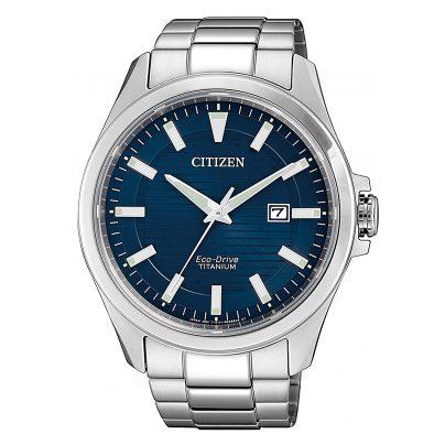 Citizen BM7470-84L Herrenarmbanduhr Eco-Drive Titan 4974374288172