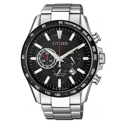 Citizen CA4444-82E Herrenuhr Eco-Drive Chronograph Titan 4974374288196