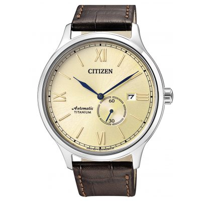 Citizen NJ0090-13P Automatik-Herrenuhr Titan 4974374271112